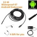 3.5m Mini Android Endoscope  -  BLACK