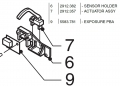 Oce 7055 Original Sensor +pn