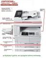 DC2120, φωτοαντ/κό +printer network FULL εργοστ. Kyocera