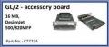 Hp Mfp 500, 820mfp GL-2 accessory board, 16mb, C7772A